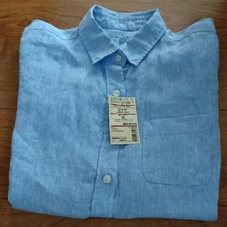 MUJI (無印良品) - 無印良品★フレンチリネン洗いざらしシャツ