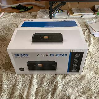 EPSON - EPSON EP-810AB(プリンター)