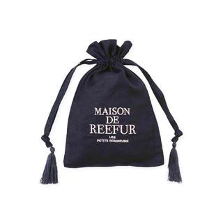 メゾンドリーファー(Maison de Reefur)のMAISON DE REEFUR ロゴ タッセル ポーチ/メゾンドリーファー(ポーチ)
