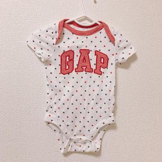 ベビーギャップ(babyGAP)のbabyGAPロンパース2枚セット(ロンパース)