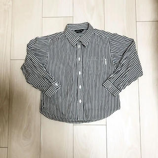 コムサイズム(COMME CA ISM)のチェックシャツ コムサイズム 110(ブラウス)