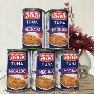 TUNA MECHADO 155g×5(缶詰/瓶詰)