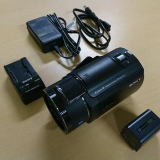 値下げ  ソニー 4Kカメラ AX40