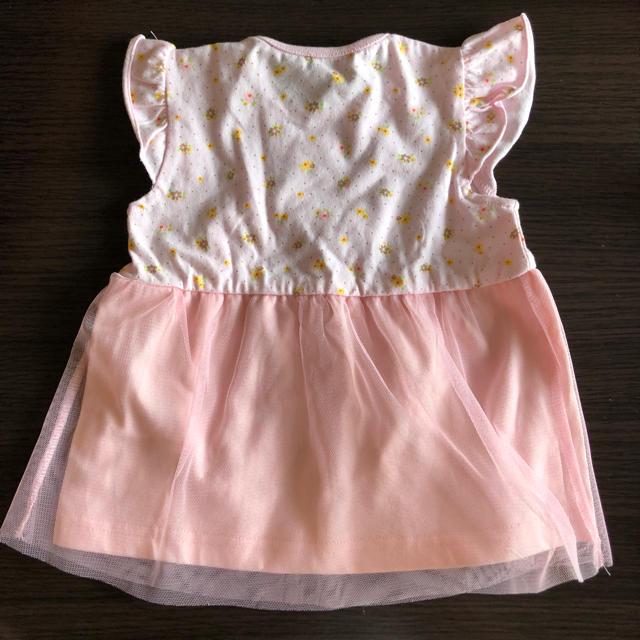 西松屋(ニシマツヤ)の西松屋 ワンピース 60〜70 キッズ/ベビー/マタニティのベビー服(~85cm)(ワンピース)の商品写真