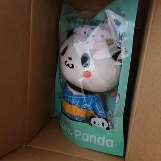 ラクテン(Rakuten)のお買い物パンダ ぬいぐるみ(ノベルティグッズ)
