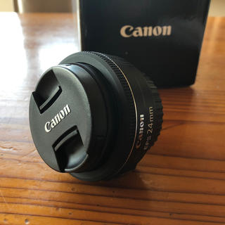 Canon - 美中古品 Canon EFS 24mm f/2.8 stm