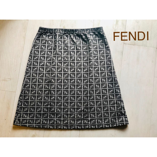 フェンディ(FENDI)の美品✨  FENDI  スカート (ミニスカート)