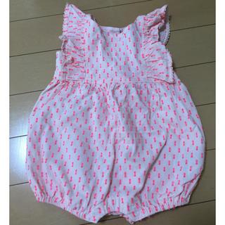 ベビーギャップ(babyGAP)のbabyGAP♡ロンパース(50)(ロンパース)