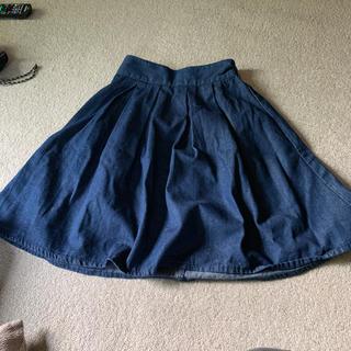 ジーユー(GU)のGUスカート M(ひざ丈スカート)