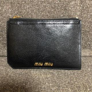 ミュウミュウ(miumiu)のミュウミュウ  コインケース カードケース(コインケース)