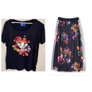 adidas originals Tシャツ スカート