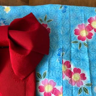 しまむら - ジュニア 浴衣&帯 女の子 130 140