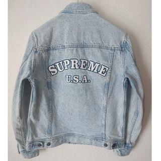Supreme - 希少!☆16ss/Supreme denim trucker jacket
