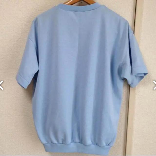 adidas(アディダス)のadidas 水色Tシャツ  メンズのトップス(Tシャツ/カットソー(半袖/袖なし))の商品写真