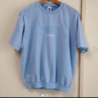 adidas - adidas 水色Tシャツ