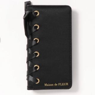 Maison de FLEUR - Maison de FLEUR iPhoneケース/ブラック