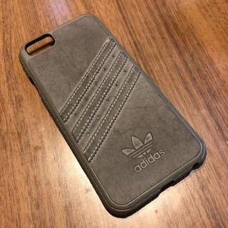 アディダス(adidas)のadidas♡iPhoneケース♡6♡6S対応♡グレー(iPhoneケース)