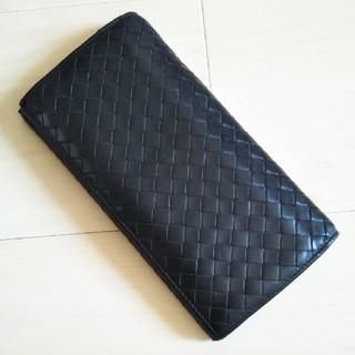 ボッテガヴェネタ(Bottega Veneta)のボッテガ・ヴェネタ 黒 長財布(長財布)