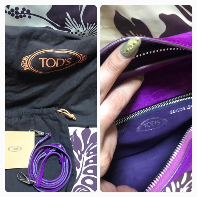 TOD'S(トッズ)のTOD'S 美品 ウェーブバッグ レディースのバッグ(ハンドバッグ)の商品写真