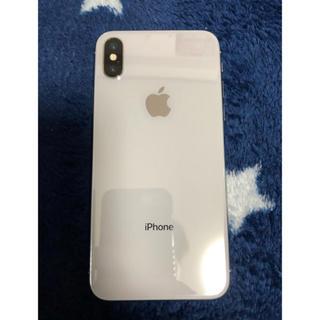 Apple - iPhonex 筐体 ガラ ジャンク ホワイト