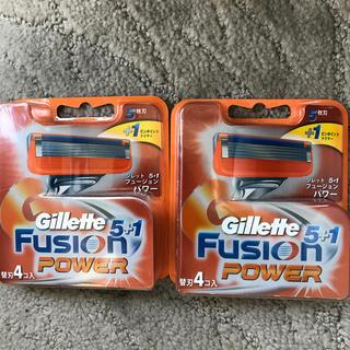 ジレ(gilet)のジレット フュージョン 5+1 パワー 替刃合計8個(日用品/生活雑貨)