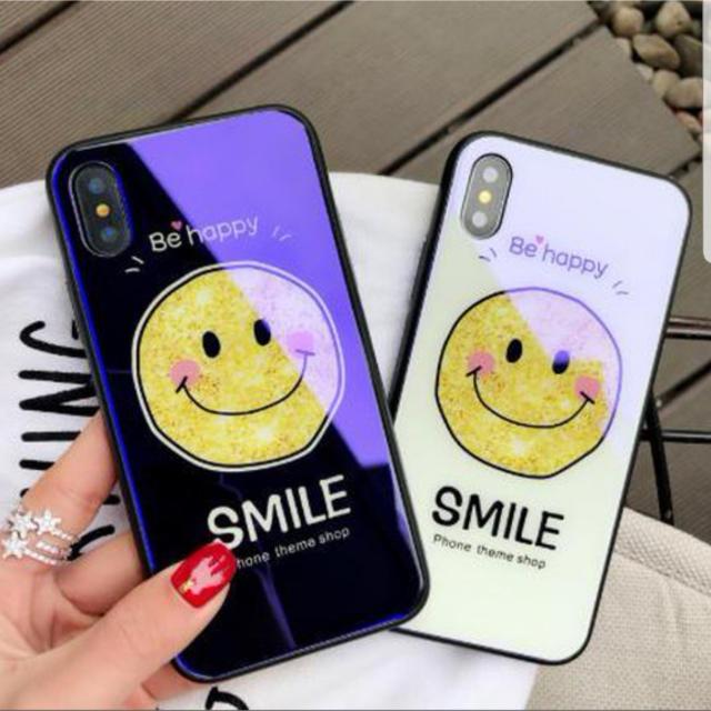 グッチ Galaxy S6 ケース / 手書き風スマイリー柄☆新品☆iPhoneケース☆7/8/X/XRの通販 by matsuhana's shop  |ラクマ