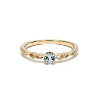 ノジェス(NOJESS)のノジェス  アクアマリンのリング(リング(指輪))