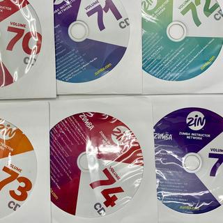 Zumba - zumba zin CD 5枚セット