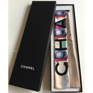 4a1557e42cb9 シャネル(CHANEL)の新品☆CHANELシャネル スカーフ スリムヘアバンド ツイリー 正規品