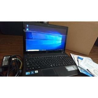 エイサー(Acer)のACERノートPC Windows10 メモリ8G HD500GB(ノートPC)