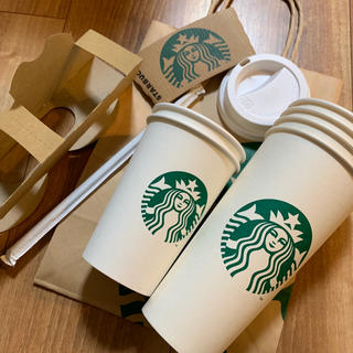 Starbucks Coffee - スタバ 紙カップ セット