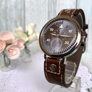 ヴィヴィアンウエストウッド(Vivienne Westwood)の【動作OK】 vivienne ヴィヴィアン  腕時計 スモセコ 革ベルト(腕時計(アナログ))