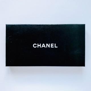 CHANEL - CHANEL シャネル 長財布用 空箱(24.5×13.0cm)