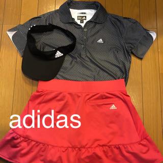 adidas - アディダスウエアとバイザー