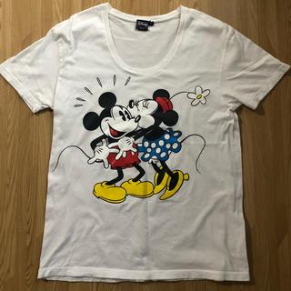 b2f2b5b72fc77 ウィゴー(WEGO)のミッキーミニーちゃん半袖Tシャツ(Tシャツ(半袖