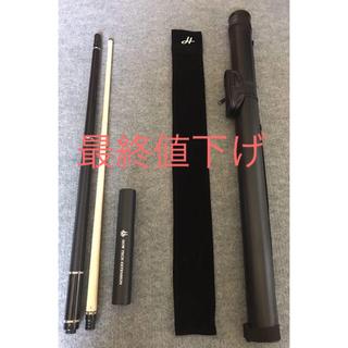 ビリヤードキュー ハオキュー HOW CUE ZR-05 黒檀 ストレートモデル