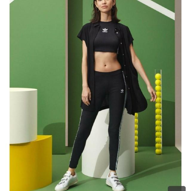 adidas(アディダス)のadidas Originals 3 STRIPES TIGHTS Mサイズ  レディースのレッグウェア(レギンス/スパッツ)の商品写真