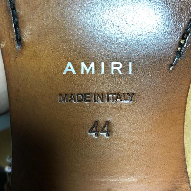AMIRI Bandana Buckle Boot 44 メンズの靴/シューズ(ブーツ)の商品写真
