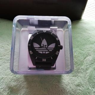 アディダス(adidas)のアディダス時計 黒 週末限定値下げ。(腕時計(アナログ))