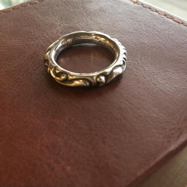 Chrome Hearts(クロムハーツ)のクロムハーツ スクロールリング メンズのアクセサリー(リング(指輪))の商品写真