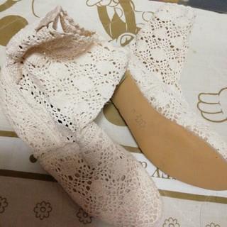 未使用サイズ41レースのブーツ、25.5cm~26cm位(ブーツ)