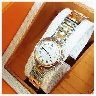Hermes - なな様専用 エルメス時計  美品  クリッパー  ・  レディース
