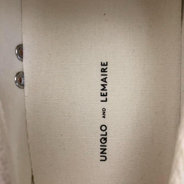 UNIQLO(ユニクロ)のdooo様専用新品!ユニクロ LEMAIR スリッポン メンズの靴/シューズ(スニーカー)の商品写真