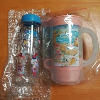 Disney - 【匿名配送】スプリングボヤッジ カップセット&35周年ドリンクボトル