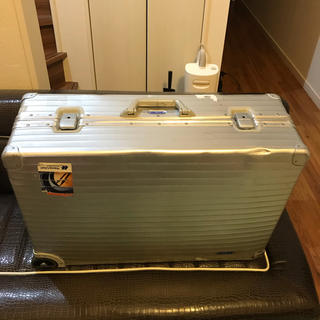 リモワ(RIMOWA)の大型 ビンテージ リモワ トランク 2輪  貴重(トラベルバッグ/スーツケース)