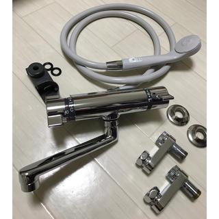 KVK シャワー混合栓 KF800WT(新品通水のみ)