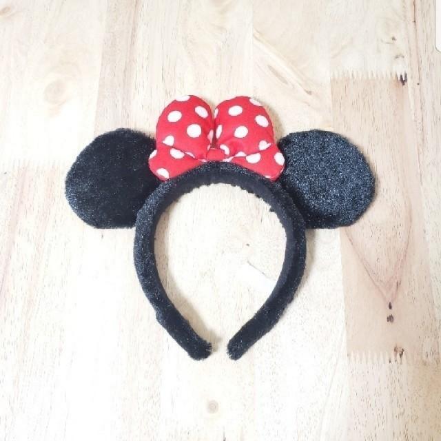 Disney(ディズニー)のミニーカチューシャ レディースのヘアアクセサリー(カチューシャ)の商品写真
