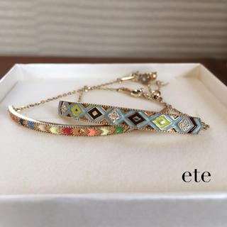 ete - ete☆ミサンガブレスレット・2個セット