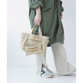 DEUXIEME CLASSE - SITA PARANTICA CANVAS TOTE MINI BAG ベージュ