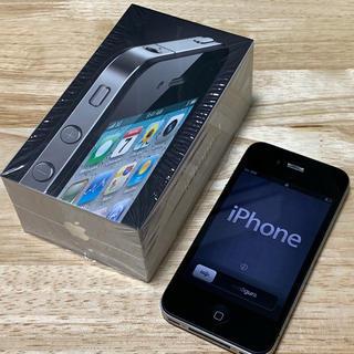 iPhone - iPhone4 Black 32GB Softbank 箱付き